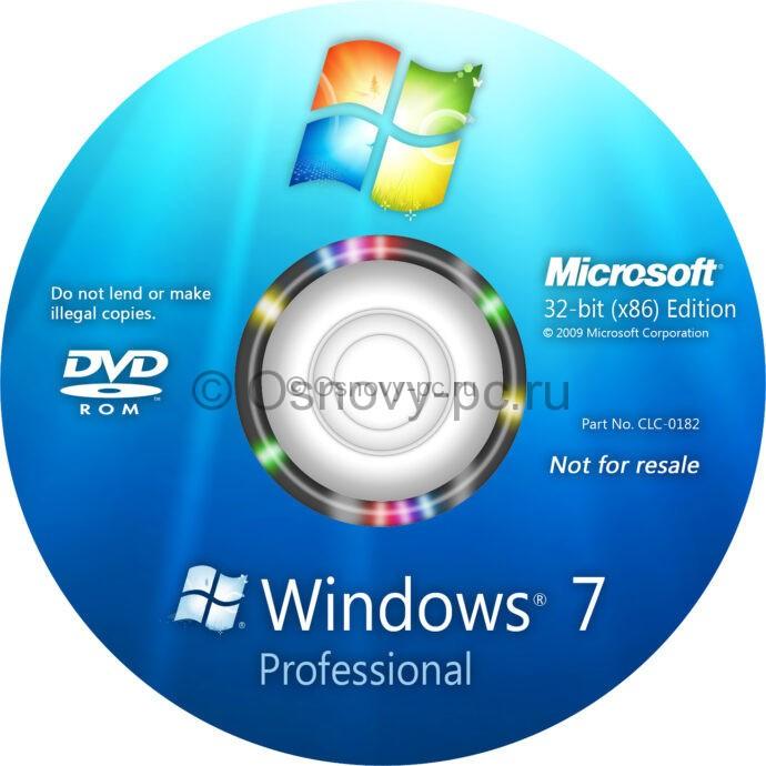 Как установить виндовс 7 на новый компьютер с диска?