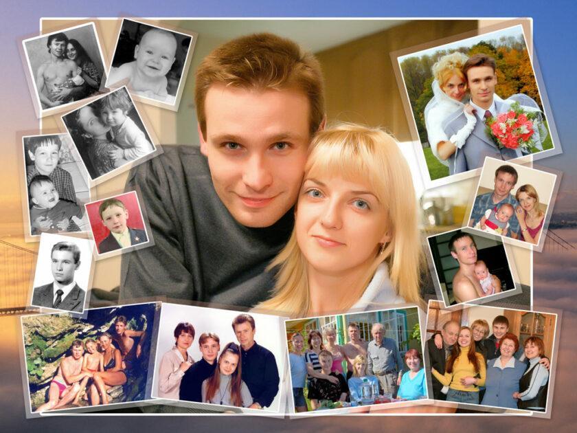 Надписями, приложение для открыток из фотографий