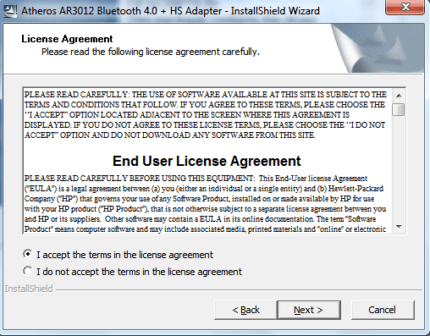 Установка Bluetooth на пк Windows 7