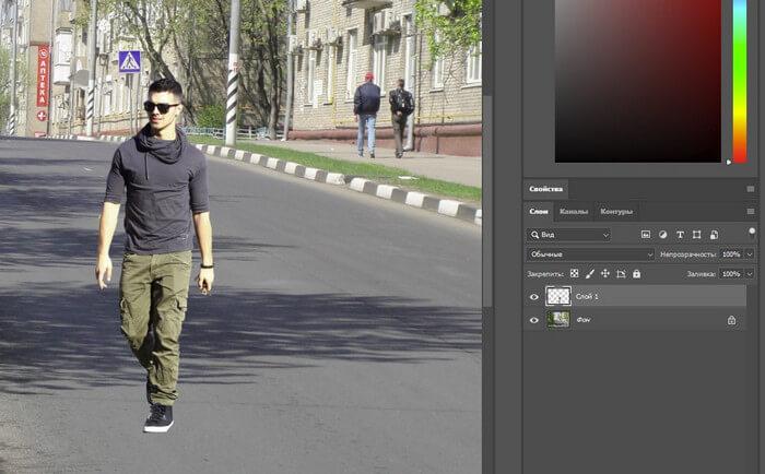 Как сделать тень в фотошопе