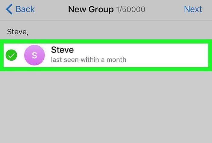 Как создать группу в телеграмме