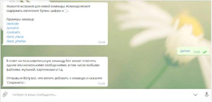 Сотворяем ботов в Telegram