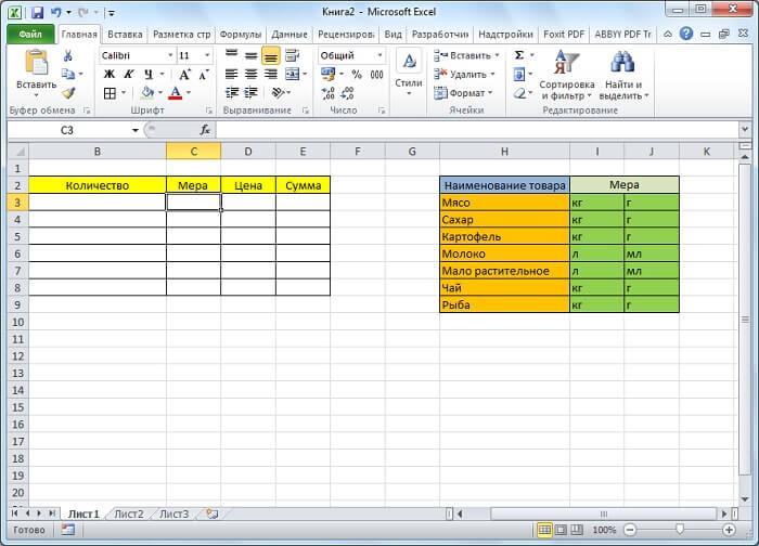 Делаем выпадающие списки в Excel