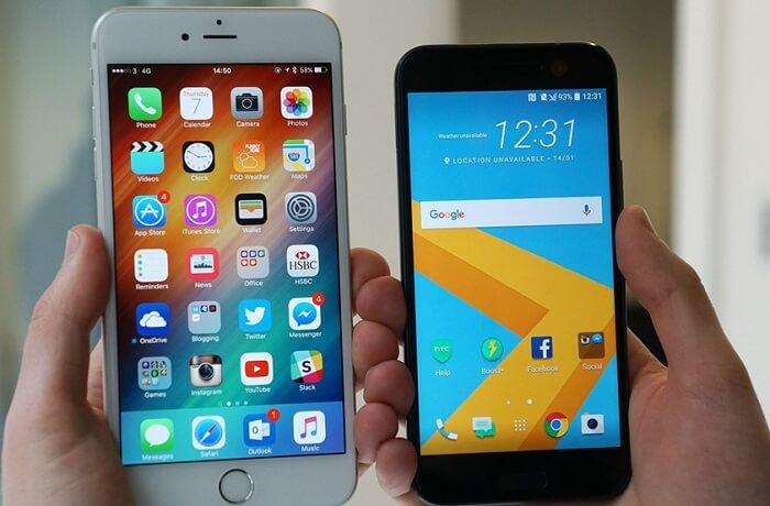 Перенос данных с android на айфон