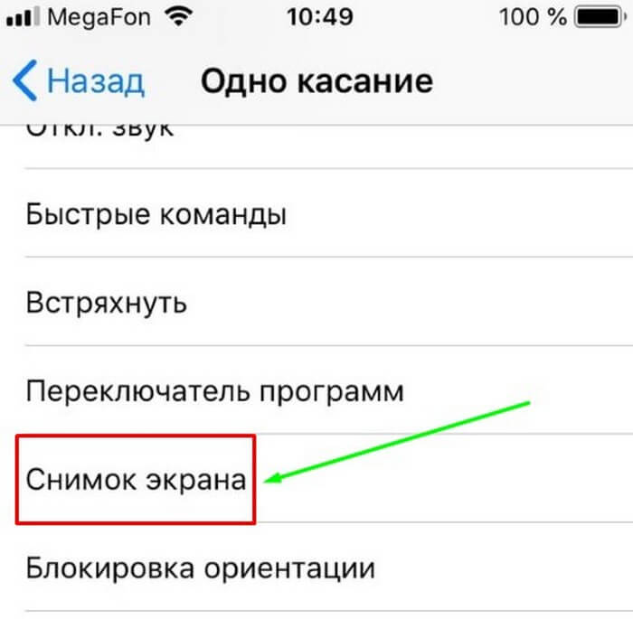Делаем скриншоты на IPhone